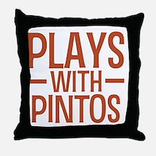 playspintos Throw Pillow