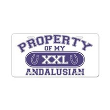 andalusianproperty Aluminum License Plate