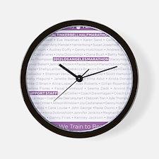 TNTblanket_SP12_small Wall Clock