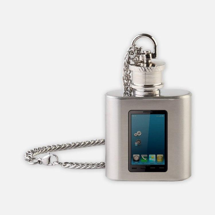 Smartphone Flask Necklace