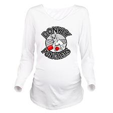 donkeypunch Long Sleeve Maternity T-Shirt
