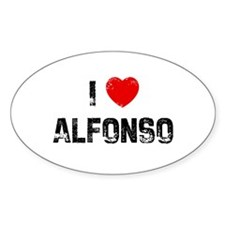 I * Alfonso Oval Decal