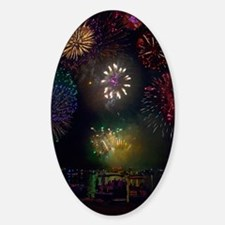 July 4th Fireworks Decal