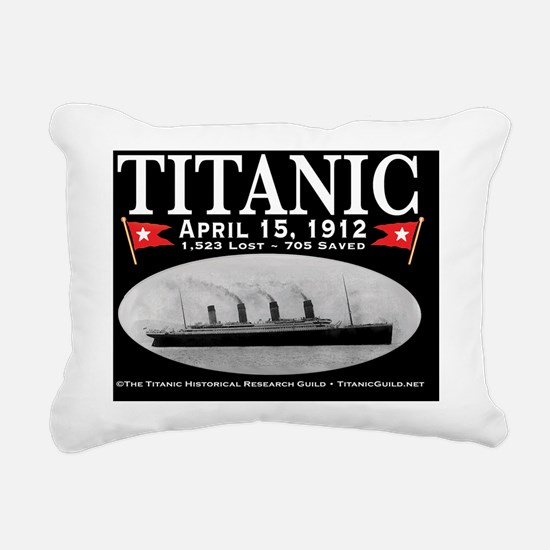 TG2 Notecard black Rectangular Canvas Pillow