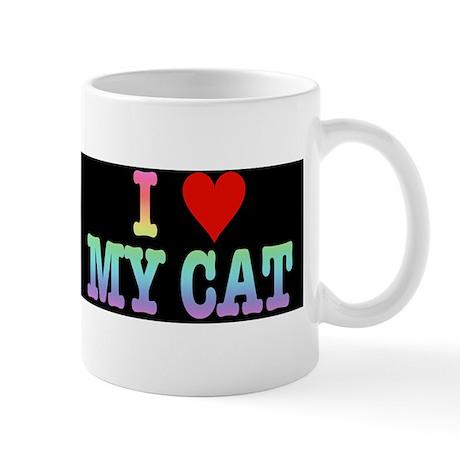 heartmycat8.31x2rainbow Mug