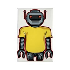 robotintshirt Rectangle Magnet