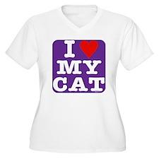 HeartMyCat10x10pu T-Shirt
