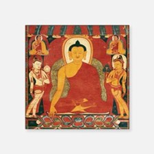 "Buddha2Sq Square Sticker 3"" x 3"""