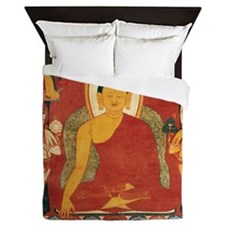 Buddha2Sq Queen Duvet