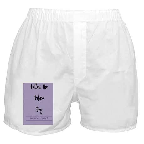 Follow the fog (journal) Boxer Shorts