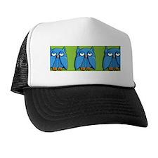 Mug Aqua Owl green Trucker Hat
