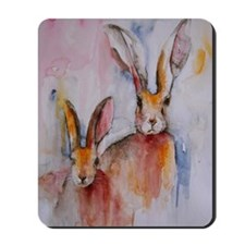 2 Hares Mousepad