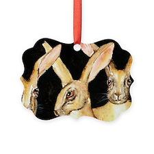 3 Hares Ornament
