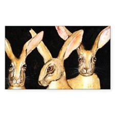 3 Hares Decal