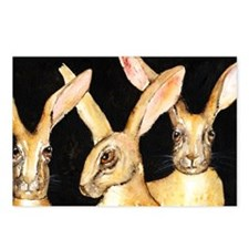 3 Hares Postcards (Package of 8)