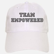 EMPOWERED is my lucky charm Baseball Baseball Cap