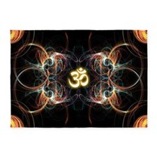 om poster 5'x7'Area Rug