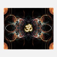 om poster Throw Blanket