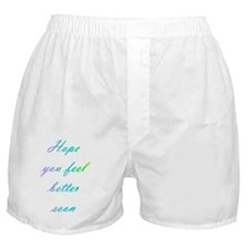 Feel Better Boxer Shorts
