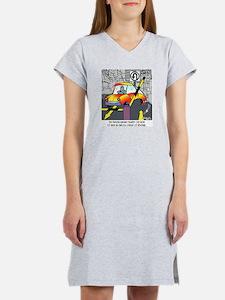 8567_parking_cartoon Women's Nightshirt