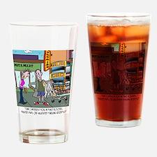 8560_parking_cartoon Drinking Glass