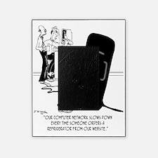 7869_refrigerator_cartoon Picture Frame
