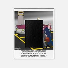 8608_parking_cartoon Picture Frame
