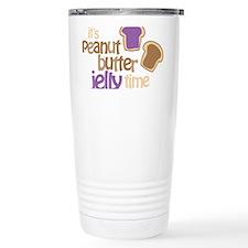 Its Peanut Butter Jelly Time Travel Mug