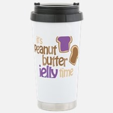 Its Peanut Butter Jelly Time Travel Mug