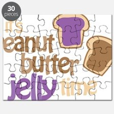 Its Peanut Butter Jelly Time Puzzle