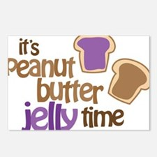 Its Peanut Butter Jelly T Postcards (Package of 8)