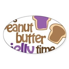 Its Peanut Butter Jelly Time Decal