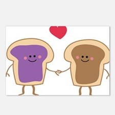 Peanut Butter Loves Jelly Postcards (Package of 8)