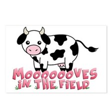 moooves Postcards (Package of 8)