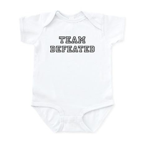 Team DEFEATED Infant Bodysuit