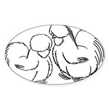 HenandRoo Pair Decal
