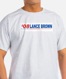 Lance Brown 2008 T-Shirt