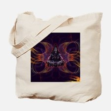 shiva on fractal_small Tote Bag