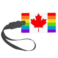 gay cnd flag Luggage Tag