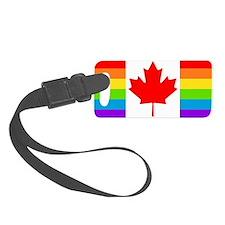 gay cnd flag Luggage Tag