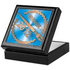 Chapter Bok Challenge round edge sq Keepsake Box