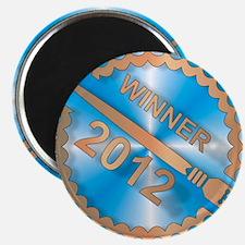 Chapter Book Challenge 2012 Winner badge sq Magnet