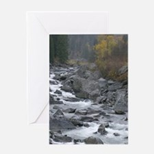 Wenatchee River Greeting Cards