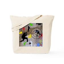 Paintball Mayhem Shower Curtain Tote Bag