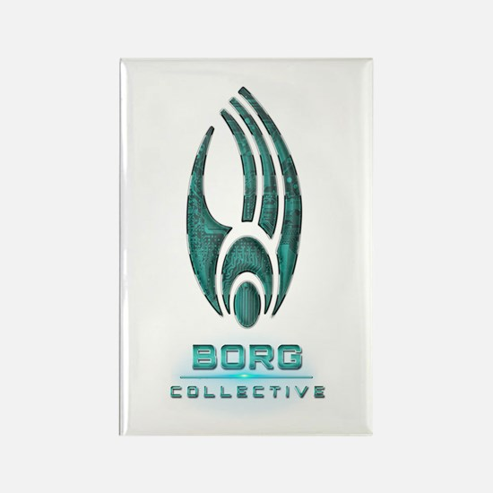 Star Trek BORG COLLECTIVE Rectangle Magnet