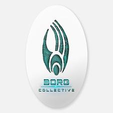Star Trek BORG COLLECTIVE Sticker (Oval)