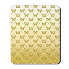 Butterfly_gold7100 Mousepad
