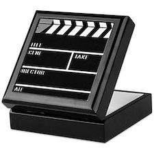 Blank ClapperBoard Keepsake Box