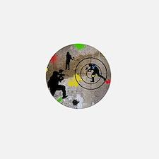 Paintball King Duvet Mini Button