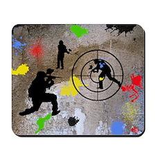 Paintball King Duvet Mousepad